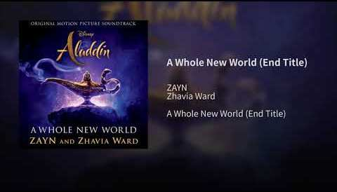 Download Music ZAYN, Zhavia Ward - A Whole New World (Audio) (End Title) (From ″Aladdin″/Official Audio)