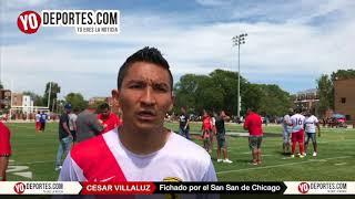 Cesar Villaluz refuerza al San San en Chicago de Liga CLASA