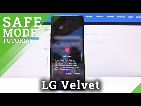 How to Enter Safe Mode in LG Velvet – Turn Off Third-Party Apps