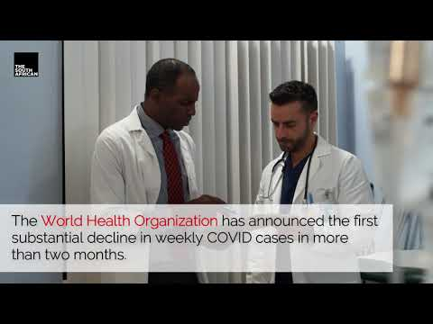 Covid cases are declining, says WHO