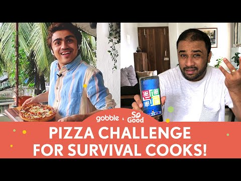 Gobble | Rohan Makes A Pizza For The FIRST Time | Box Mein Kya Hai | Ft. Rohan Shah, Nehal Karkera