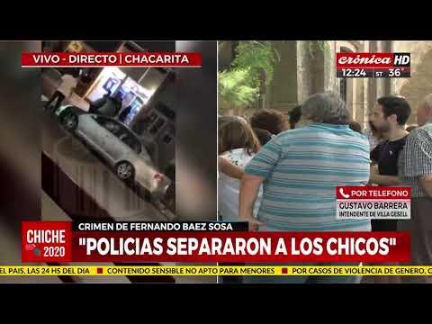 """Intendente de Villa Gesell: """"La policía corrió a los chicos"""""""