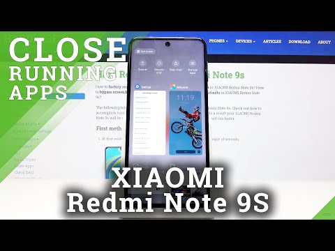 How to Disable Running Apps in XIAOMI Redmi Note 9s – Background Apps