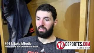 Nikola Mirotic Novato obtiene el premio de Mejor Novato del Mes de Diciembre