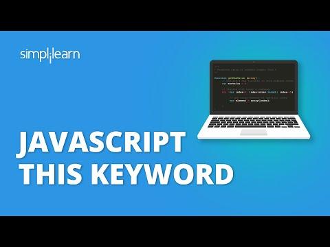 JavaScript This Keyword | JavaScript This Keyword Explained | JavaScript Tutorial | Simplilearn