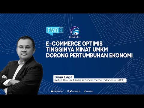 E-commerce Optimis Tingginya Minat UMKM Dorong Pertumbuhan Ekonomi