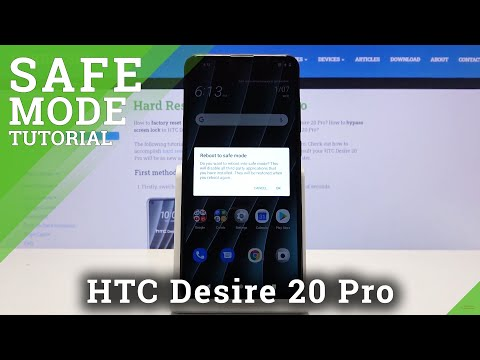 How to Exit Safe Mode in HTC Desire 20 Pro – Run Your HTC Smartphone in Safe Mode