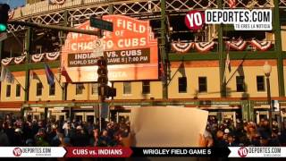 Happy Halloween Noche de Brujas en Wrigley Field World Series Cubs Indians