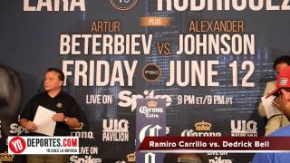 Ramiro Lobito Carrillo vs. Dedrick Bell