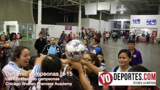 Dynamic vs Las Estrellas Women Premiere Academy Soccer League