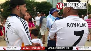 La Fiesta del MLS All Stars vs Real Madrid en Chicago Soldier Field
