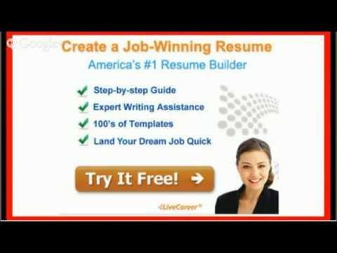 Explore livecareer's massive resume database! Livecareer Resume Free Jobs Ecityworks