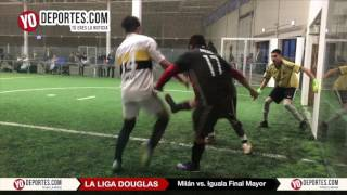 Milan vs. Iguala Final Mayor Liga Douglas