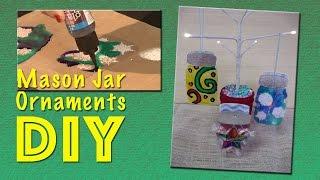 All-Star Designer Holiday Series - Mason Jar Ornaments