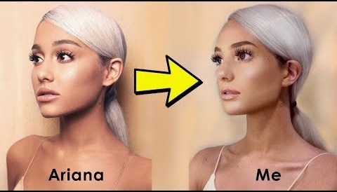 Download Music Recreating ICONIC pictures of Ariana Grande