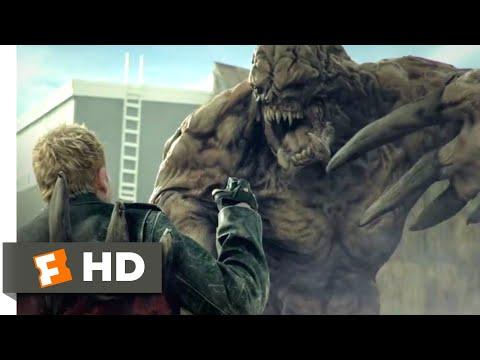 Zombie Hunter (2013) - Explosive Escape Scene (10/10) | Movieclips
