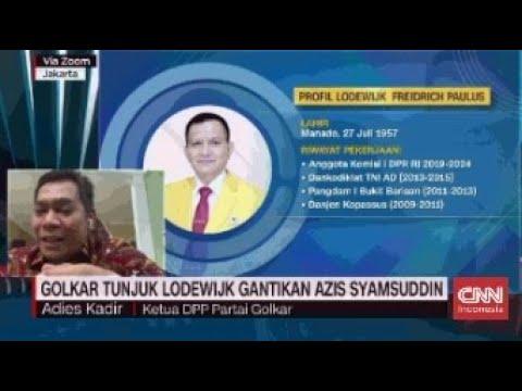 Tunjuk Lodewijk Gantikan Azis, Golkar: Ketum Pilih Orang yang Bisa Diterima Banyak Pihak