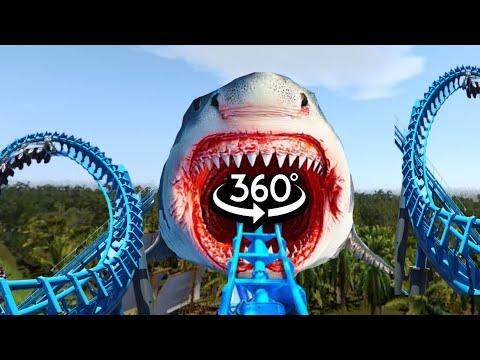 360 Video Siren Head VR Roller Coaster Theme PARK | Granny Roblox Sonic Minecraft Mario | ASTRONOMIA