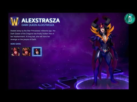 Alexstrasza All VOX - Heroes of the Storm PTR