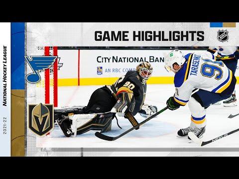 Blues @ Golden Knights 10/20/21 | NHL Highlights