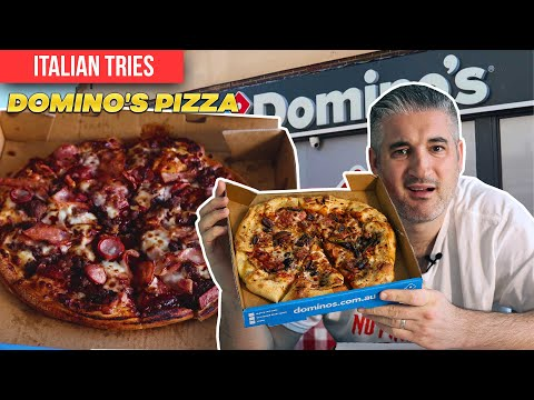 Italian Chef Try DOMINO's PIZZA for the First Time