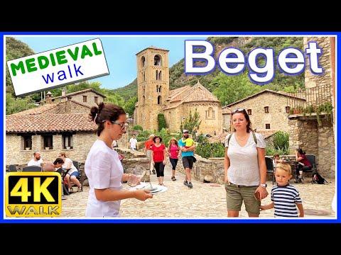 【4K】WALK SPAIN 4k video HDR GIRONA Catalonia TRAVEL vlog