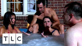 Hot Tub Drama , Swinger Wives