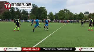 Valedores vs. Real Michoacan Liga Douglas