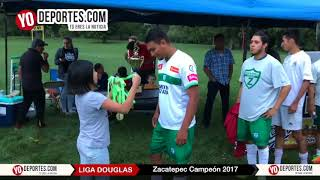 Zacatepec Campeon en Chicago La Liga Douglas