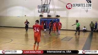 Internacional vs. USA Final Final Libre Liga Diablitos