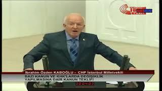 İbrahim Özden Kaboğlu , OHAL Sonrası Düzenlemeler Hakkında , Meclis Konuşması , 23 Temmuz 2018