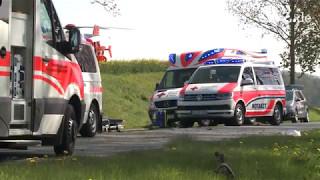 Tödlicher Verkehrsunfall auf der B 104 bei Teterow