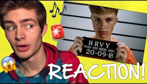 "Download Music HRVY - ″I Wish You Were Here"" REACTION!"