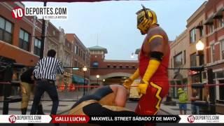 Skayde y Skayde Jr. en Maxwell Street GALLI Lucha Libre