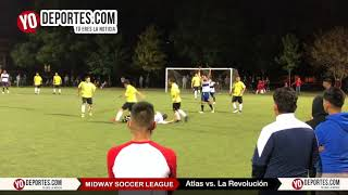 Atlas vs. La Revolución Final Midway Soccer League Chicago