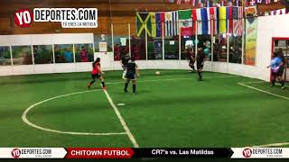 CR7's vs. Las Matildas Final Femenil Chitown Futbol
