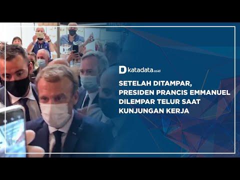 Setelah Ditampar, Presiden Dilempar Telur Saat Kunjungan Kerja   Katadata Indonesia