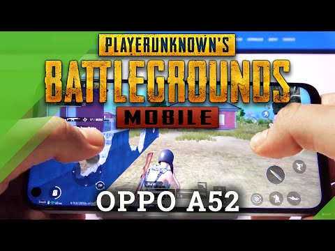 PubG on OPPO A52 – Gaming Checkup