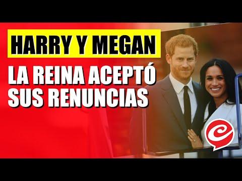 La reina aceptó la renuncia de Harry y Megan