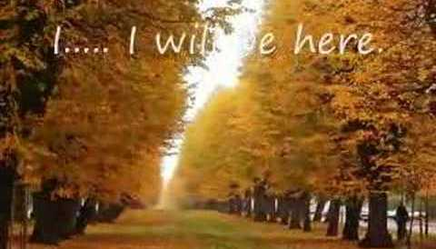 Download Music I Will Be Here - Piano Version by Benny