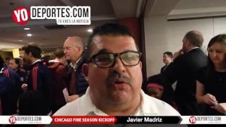 Fanatico del Chicago Fire Javier Madriz cree en su equipo