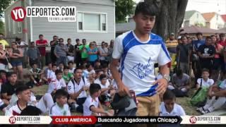 Club America elige 39 jugadores en Chicago visorias