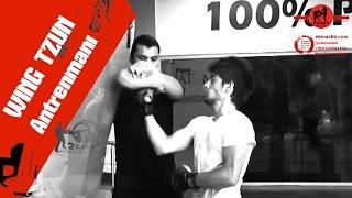 Wing Chun Kum Torbası antrenmanı - uppercut ve zincir yumruklar