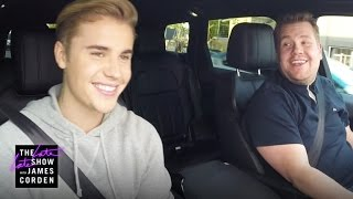 Justin Bieber Carpool Karaoke