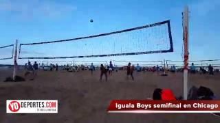 Iguala Boys son terceros en voleibol de playa en Chicago