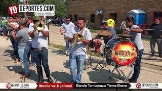 Banda Tamborazo Tierra Brava en la semifinal Morelia vs Nacional de CLASA