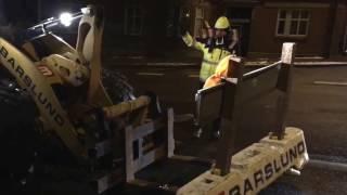Hostrupvej i Hobro bliver spærret af for gennemkørende trafik i 2017