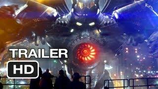Pacific Rim Official Wondercon Trailer ( 2013 ) - Guillermo del Toro Movie HD