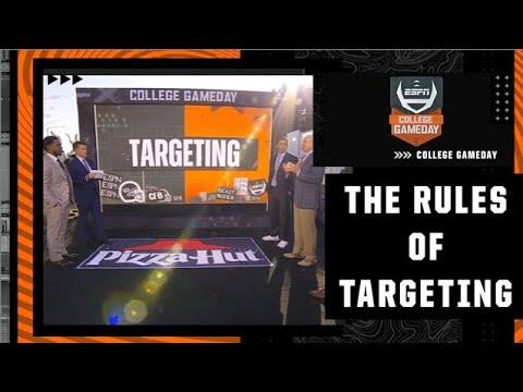Breaking down the targeting rule | College GameDay