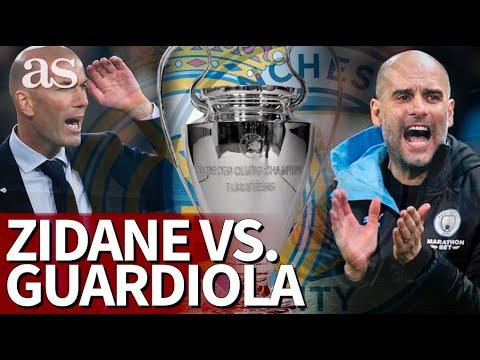 Dice Zidane que Guardiola es el mejor... la comparación que lo discute todo